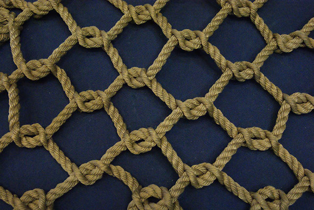 Any size rope cargo net desired great for obstacle for Rope designs and more