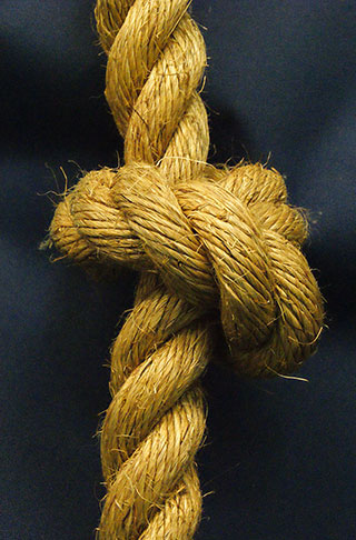 Manila Rope Knotted